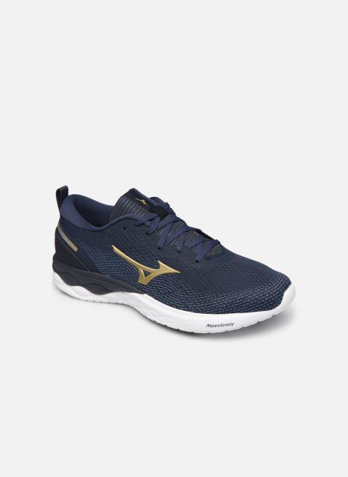 Zapatillas de deporte Mizuno Wave Revolt - M Azul vista de detalle / par