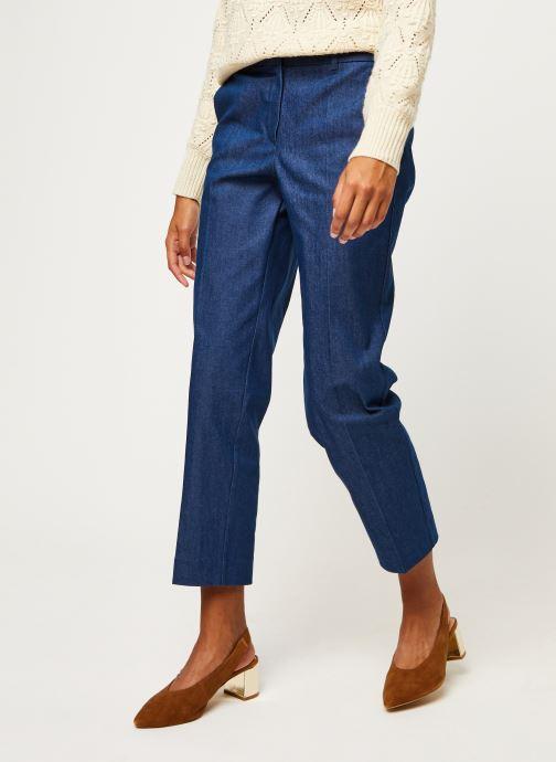 Ropa Selected Femme Slfjeanne-Emi Mw Denim Pant W Azul vista de detalle / par