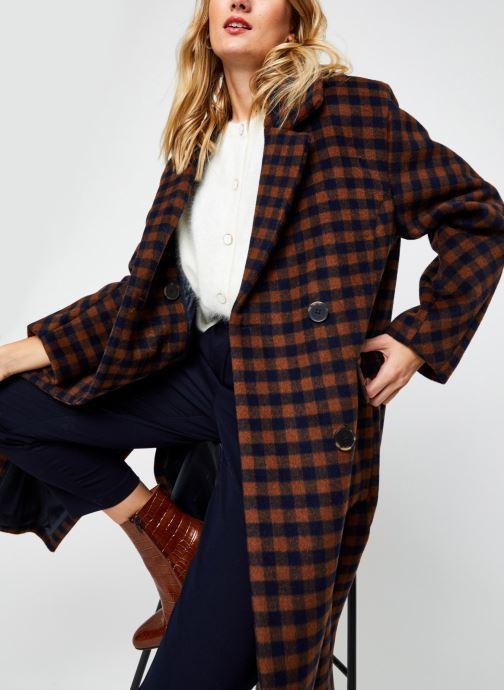 Vêtements Accessoires Slfelement Check Wool Coat B