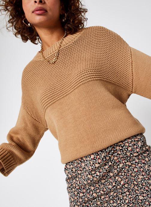 Pull - Slfbinna Knit Wide O-Neck B