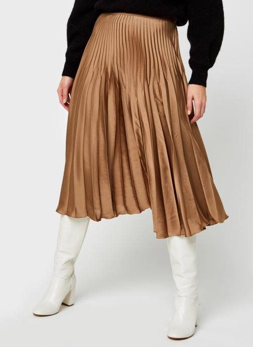 Tøj Accessories Slfharmony Midi Pleated Skirt