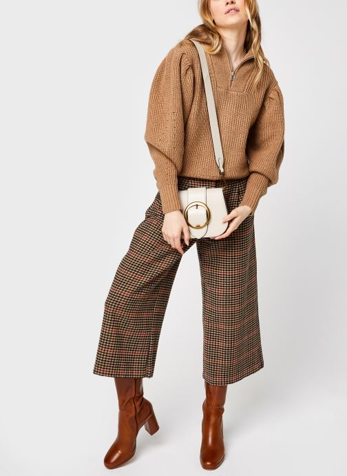 Kleding Selected Femme Slfkatty Puff Sleeve Knit Bruin onder