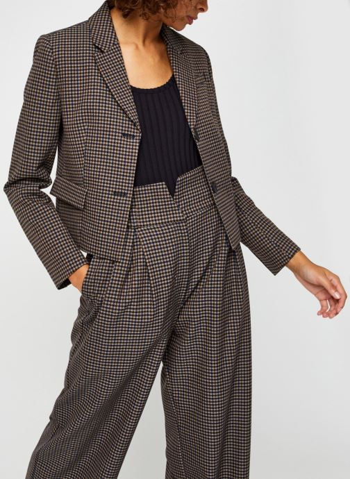 Kleding Selected Femme Slflauren Short Blazer Bruin detail