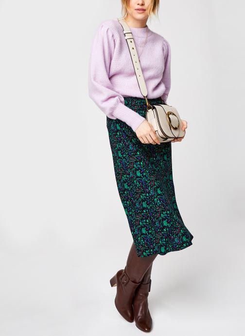 Kleding Selected Femme Slflinna Knit O-Neck Roze onder
