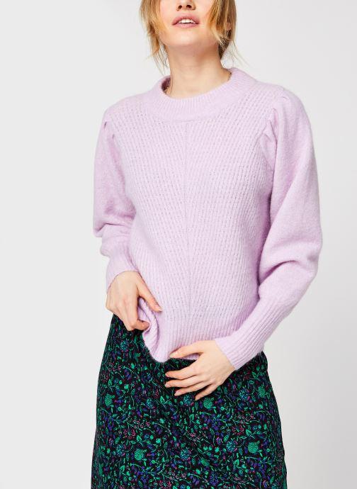 Kleding Selected Femme Slflinna Knit O-Neck Roze rechts