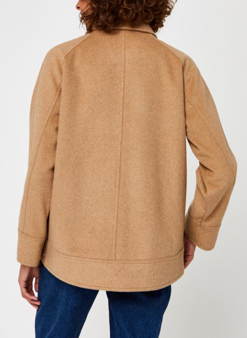 Kleding Selected Femme Slfmaddy Wool Jacket Bruin model