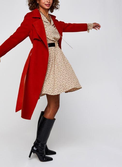 Vêtements Selected Femme Slfriyanka-Vienna Short Dress Marron vue bas / vue portée sac