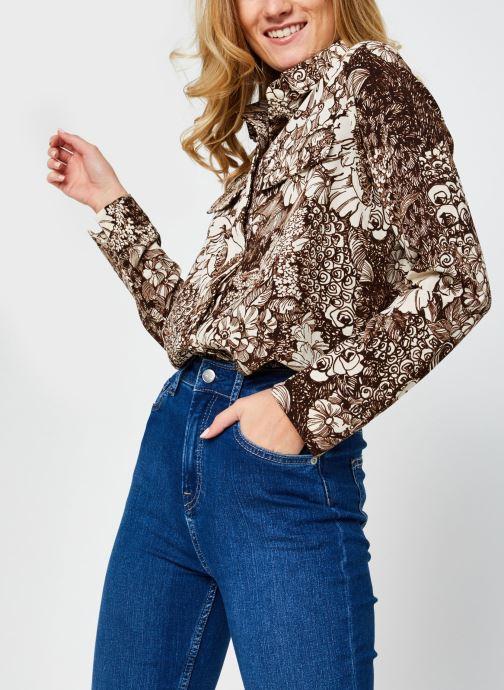 Kleding Selected Femme Slfzuri Long Shirt Beige detail