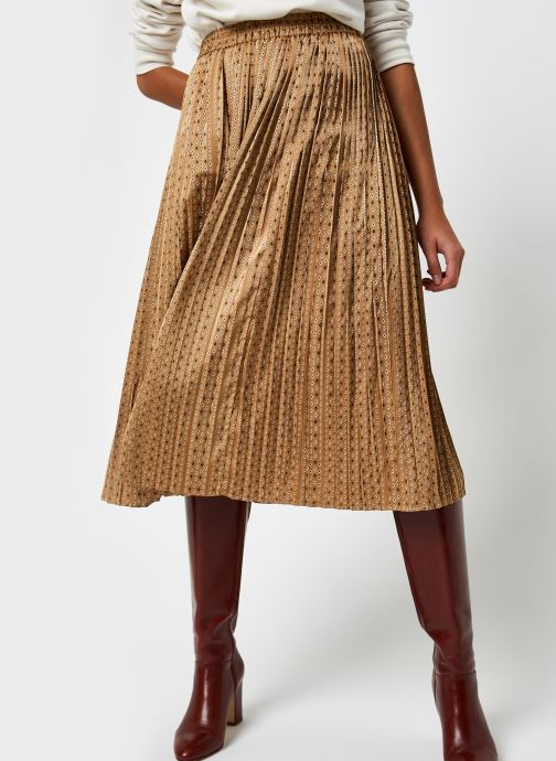 Slfmoni Midi Pleated Skirt