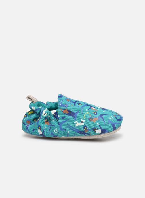 Pantofole Poco Nido Police Yoga Azzurro immagine posteriore