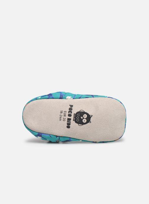 Pantofole Poco Nido Police Yoga Azzurro immagine dall'alto