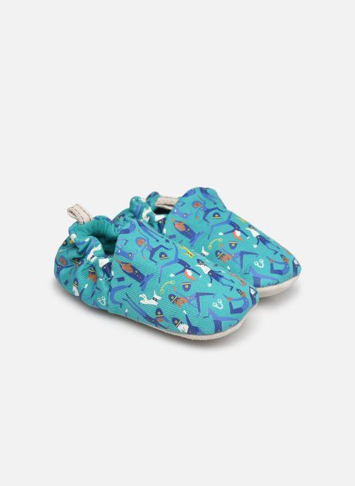 Pantofole Poco Nido Police Yoga Azzurro vedi dettaglio/paio