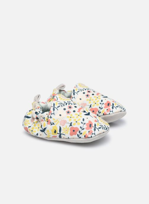 Pantofole Bambino Wildflowers Chalk