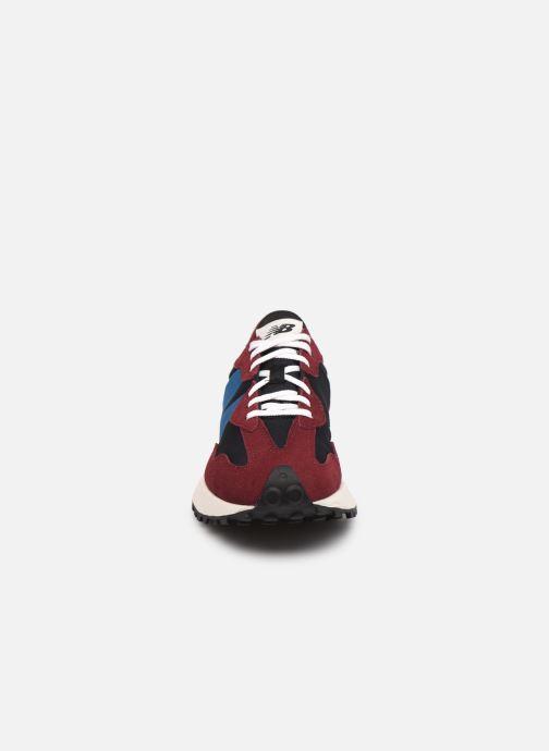 Sneaker New Balance WS327 weinrot schuhe getragen
