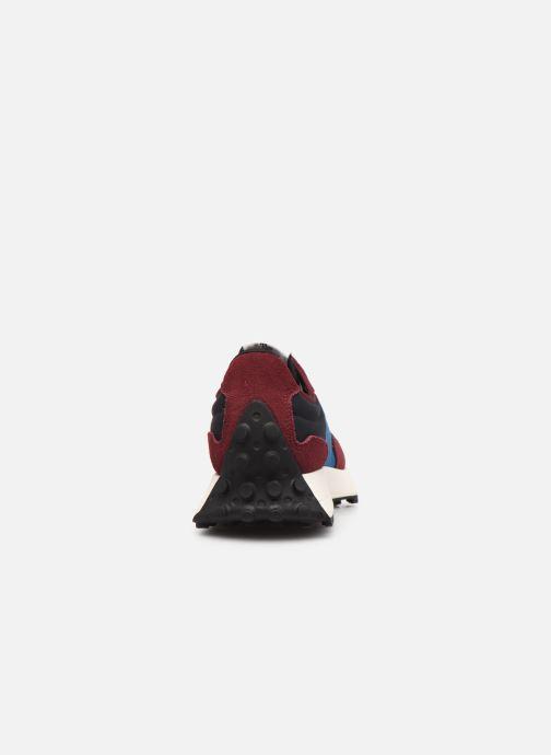 Sneaker New Balance WS327 weinrot ansicht von rechts