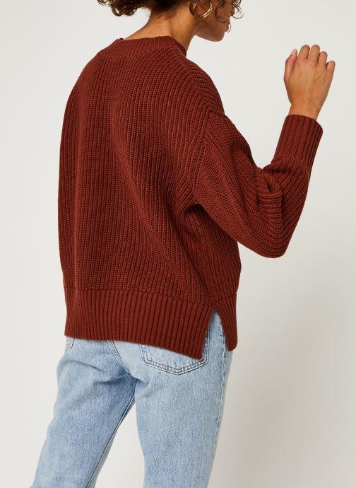 Kleding Selected Femme Slfbailey Knit O-Neck Bruin model