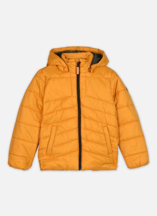 Vêtements Name it Nkmmabas Jacket Pb Jaune vue détail/paire