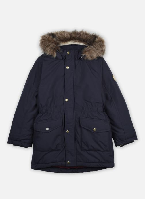 Vêtements Name it Nkfmibis Parka Jacket Pb South Bleu vue détail/paire