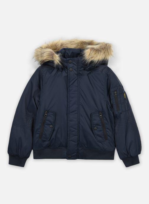 Vêtements Name it Nkmmisson Bomber Jacket Bleu vue détail/paire
