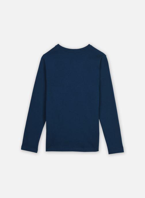 Vêtements Name it Nkmkuno Ls Top Box Bleu vue portées chaussures