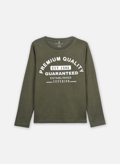 Vêtements Name it Nkmlemar Ls Top Gris vue détail/paire
