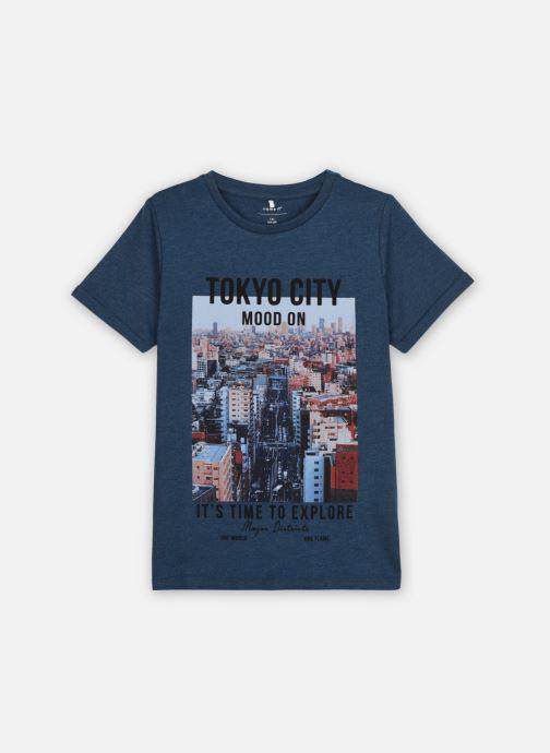 Vêtements Name it Nkmkarlo Ss Top Box Bleu vue détail/paire