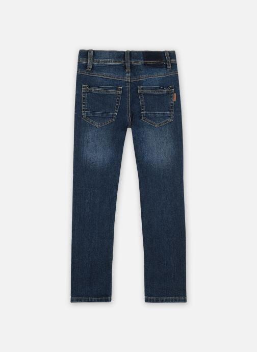 Vêtements Name it Nkmsilas Dnmcart Pant Camp Bleu vue portées chaussures