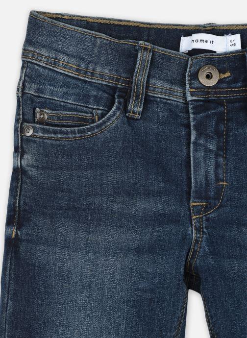 Vêtements Name it Nkmsilas Dnmcart Pant Camp Bleu vue face