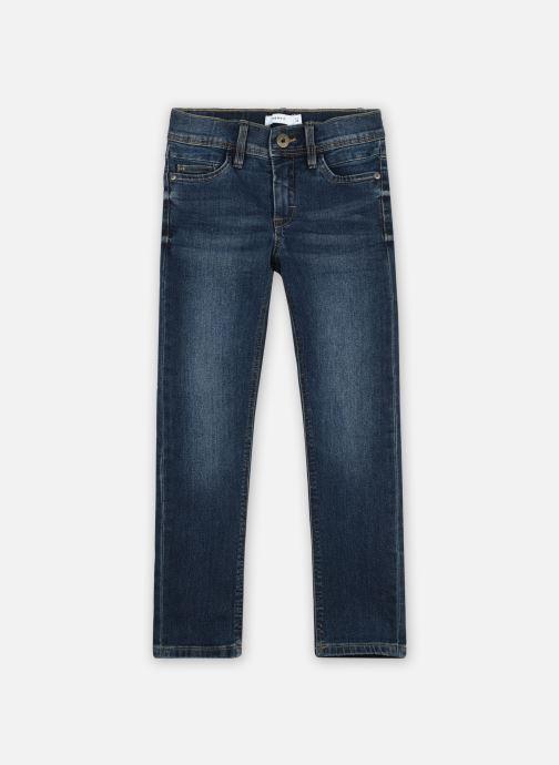 Vêtements Name it Nkmsilas Dnmcart Pant Camp Bleu vue détail/paire
