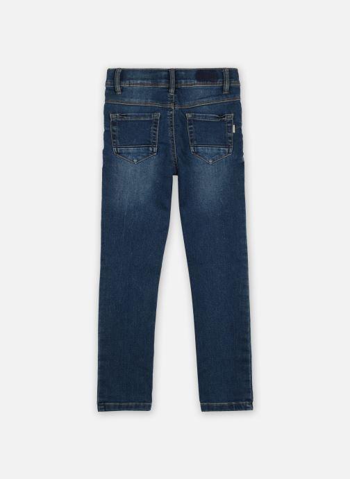 Vêtements Name it Nmfpolly Dnmcil Pant Camp Bleu vue portées chaussures