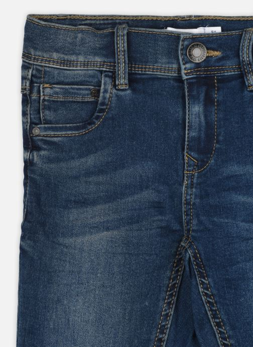 Vêtements Name it Nmfpolly Dnmcil Pant Camp Bleu vue face