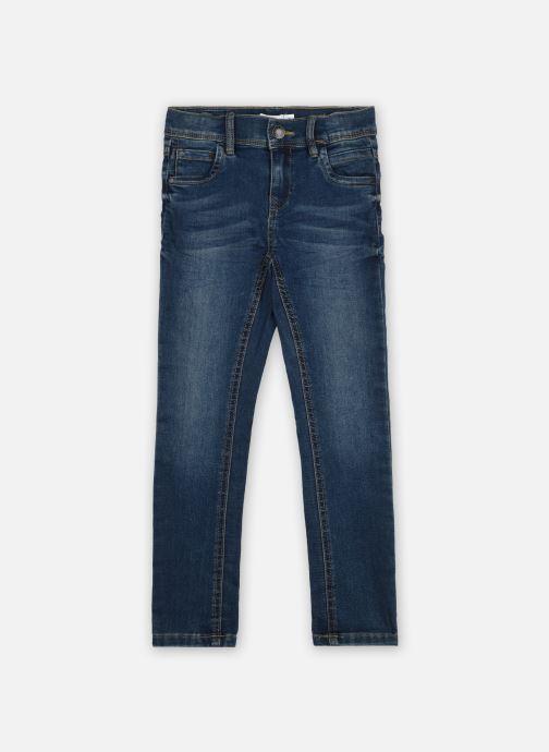 Vêtements Name it Nmfpolly Dnmcil Pant Camp Bleu vue détail/paire