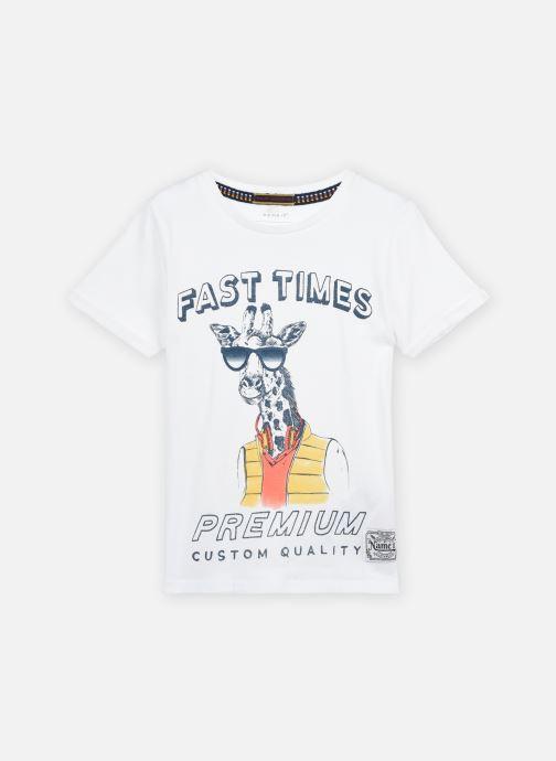 Vêtements Name it Nkmlsuper Ss Top Blanc vue détail/paire