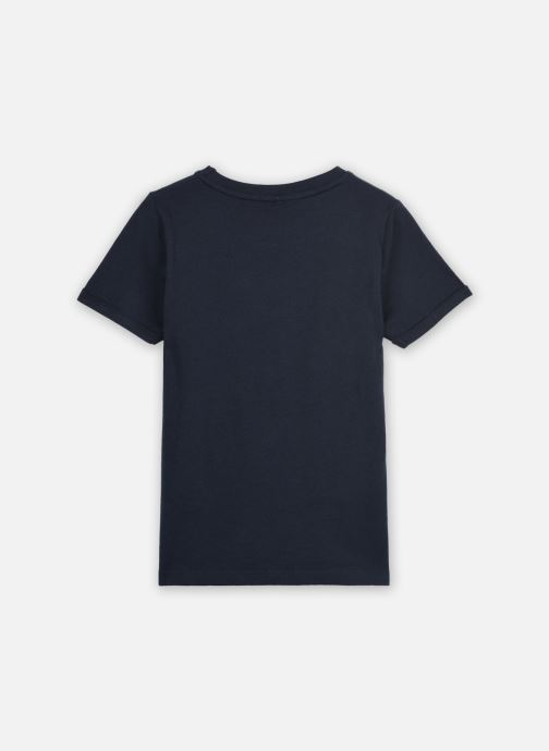 Vêtements Name it Nkmlsuper Ss Top Bleu vue portées chaussures