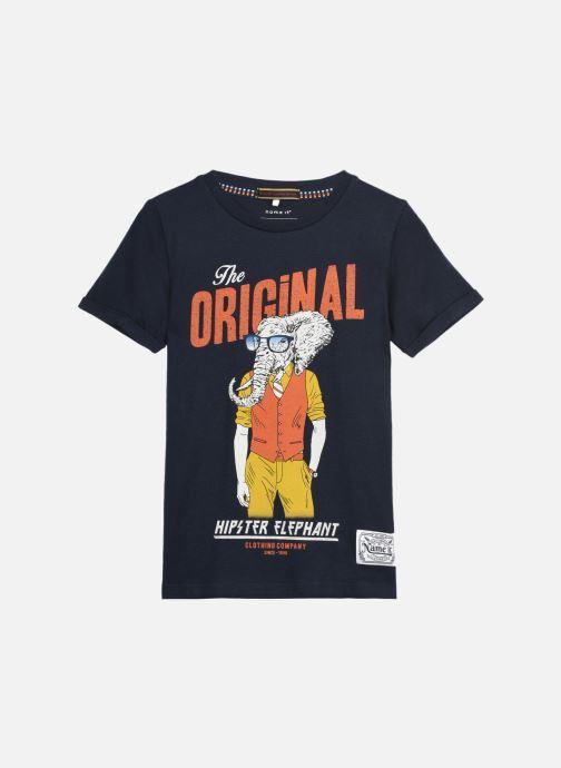 Vêtements Name it Nkmlsuper Ss Top Bleu vue détail/paire