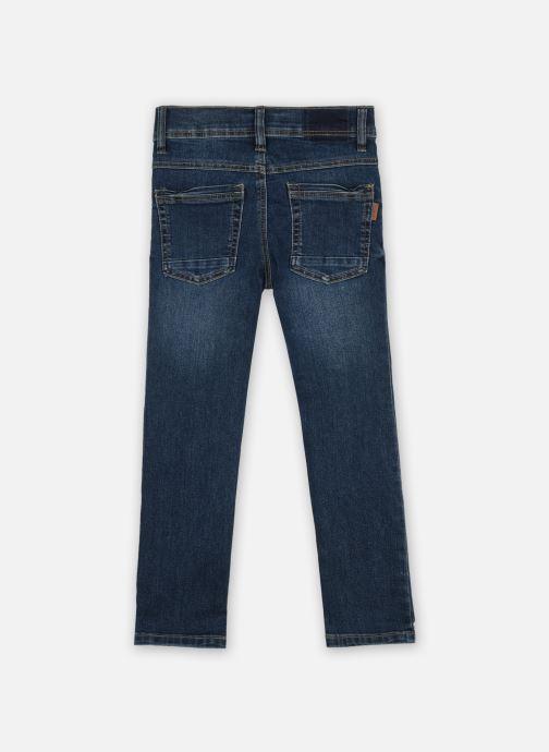 Vêtements Name it Nmmsilas Dnmcart Pant Camp Bleu vue portées chaussures