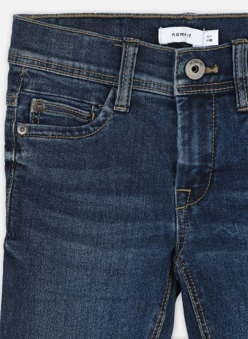 Vêtements Name it Nmmsilas Dnmcart Pant Camp Bleu vue face