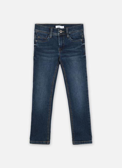 Vêtements Name it Nmmsilas Dnmcart Pant Camp Bleu vue détail/paire
