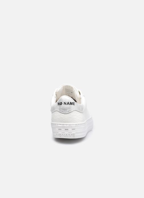 Baskets No Name Arcade Sneaker Print Snake Blanc vue droite