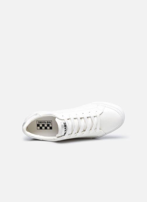 Baskets No Name Arcade Sneaker Print Snake Blanc vue gauche