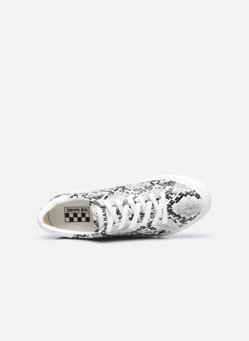Baskets No Name Arcade Sneaker Print Kobra Blanc vue gauche