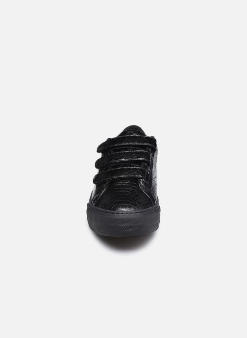 Baskets No Name Arcade Straps Print Python Noir vue portées chaussures