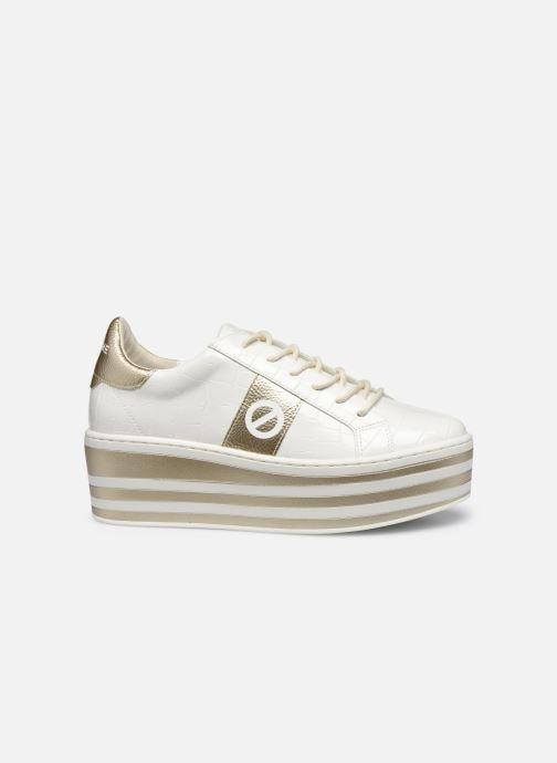 Baskets No Name Boost Sneaker Shine P.Croco Blanc vue derrière