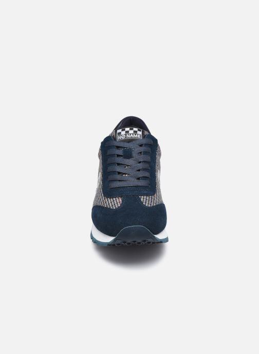 Deportivas No Name City Run Jogger Suede/Britain Azul vista del modelo