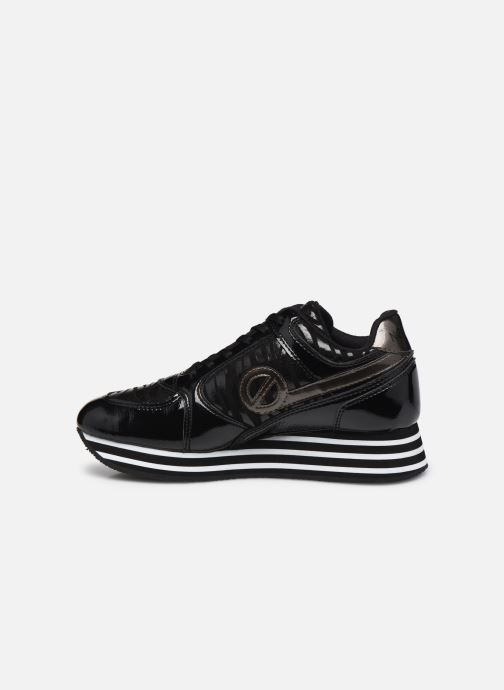 Baskets No Name Parko Jogger Crinkle/P.Zebra Noir vue face