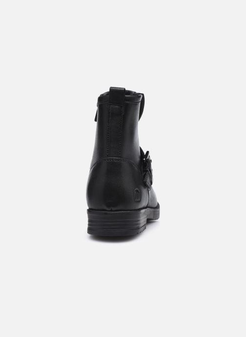 Stiefeletten & Boots MTNG 48072 schwarz ansicht von rechts