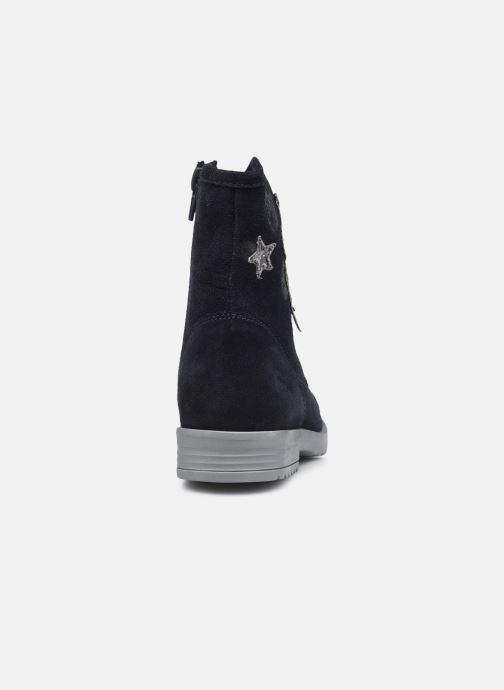 Bottines et boots MTNG 48062 Bleu vue droite