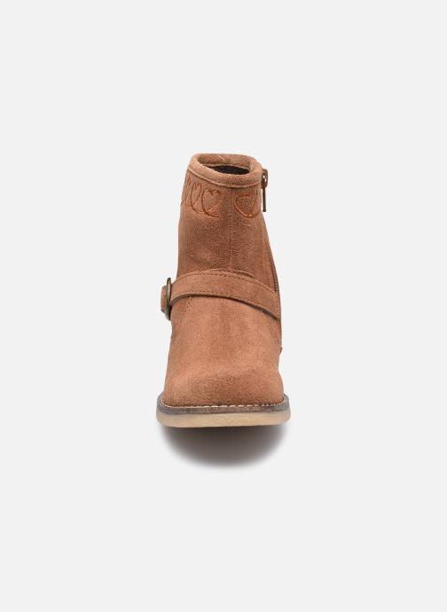 Stiefeletten & Boots MTNG 48071 braun schuhe getragen