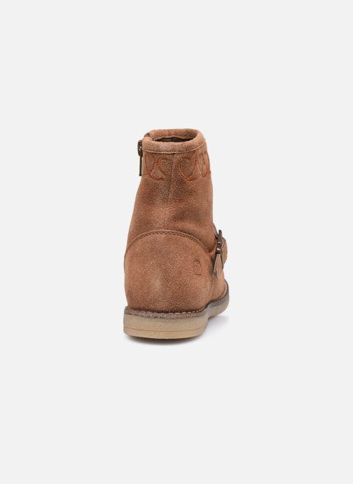 Stiefeletten & Boots MTNG 48071 braun ansicht von rechts