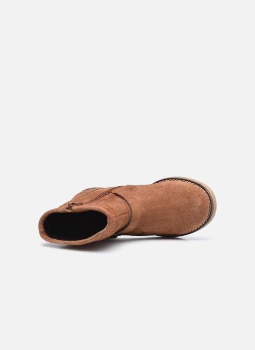 Stiefeletten & Boots MTNG 48071 braun ansicht von links